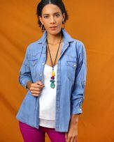 Camisa-Jeans-Mangas-com-Martingale-Azul