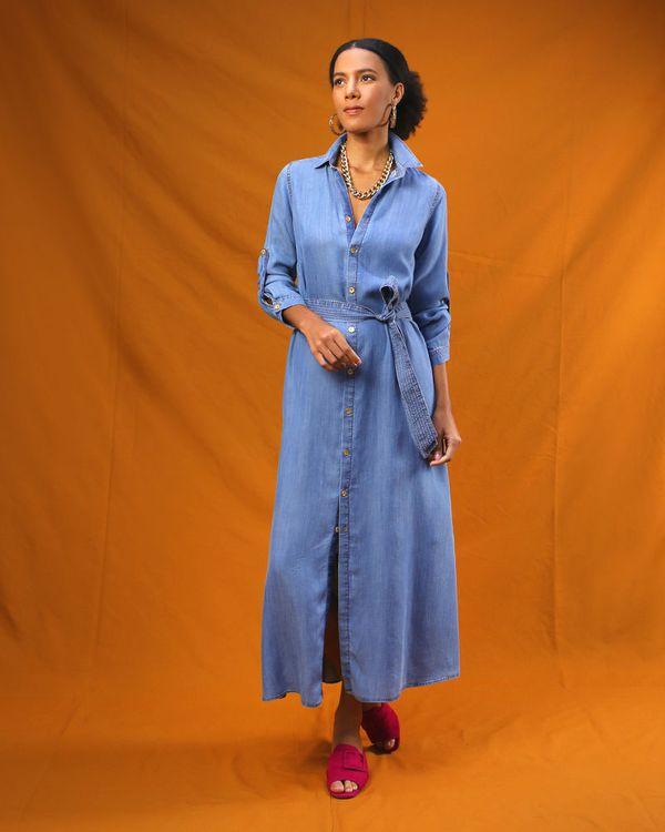 Chemise-Longo-Jeans-Faixa-com-Pespontos-Contrastante-Azul-