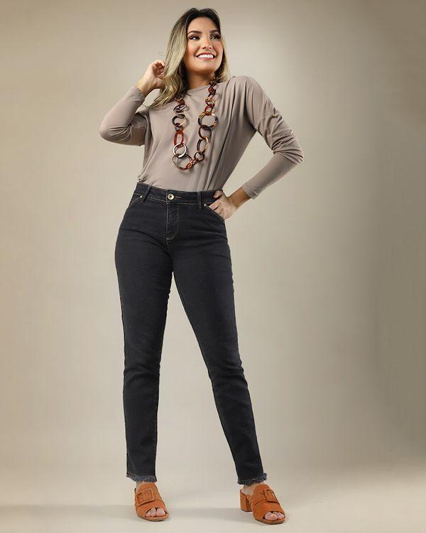 Calca-Skinny-Jeans-Barra-com-Desfiado-Preto-