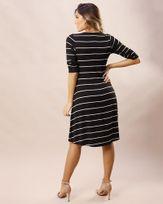 Vestido-Malha-Listras-com-Fio-Metalic-Decote-Ilhos-e-Trancado-Prata