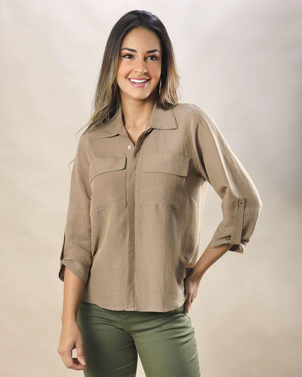 Camisa-Utilitaria-Tecido-Mangas-com-Martingale-Safari-