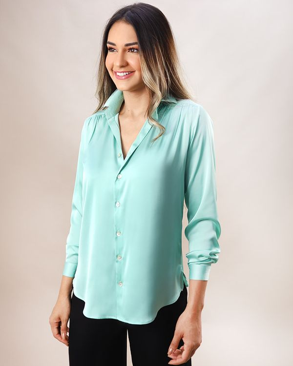 Camisa-Tecido-Acetinado-Manga-Longa-Menta-
