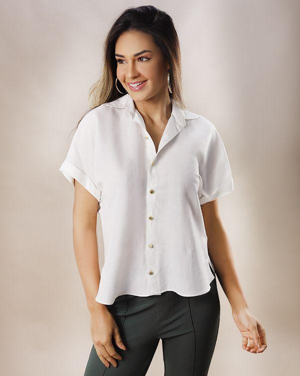 Camisa-Tecido-Manga-Curta-Off-White