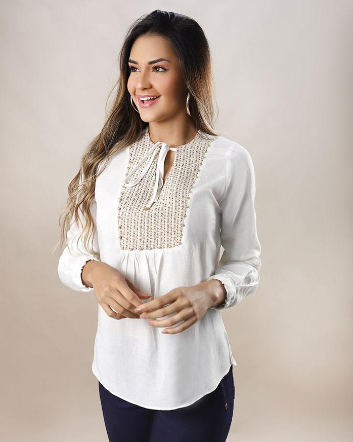 Blusa-Tecido-Pala-Tweed-com-Amarracao-Off-White