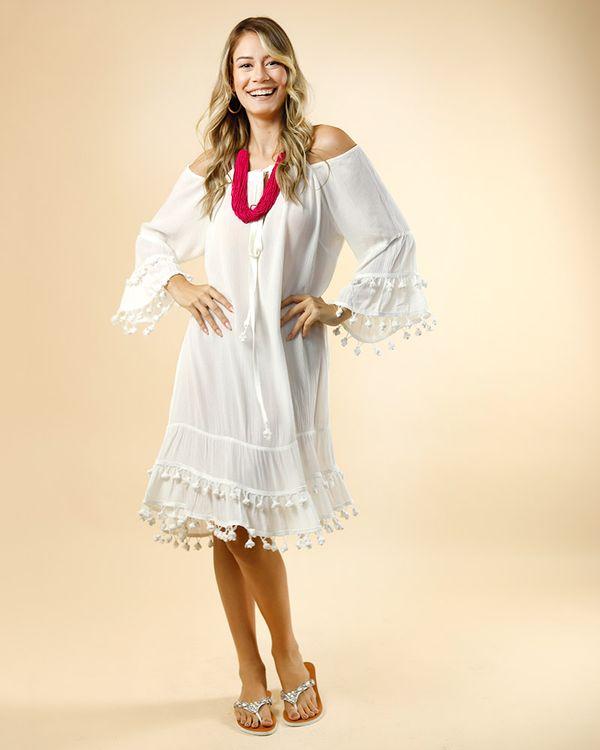 Vestido-Crepe-Beach-Wear-Ombro-Vazado-com-Galao-Pingente-Off-White