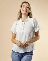 Blusa-Tecido-Texturizado-Mangas-e-Decote-com-Babados-Off-White
