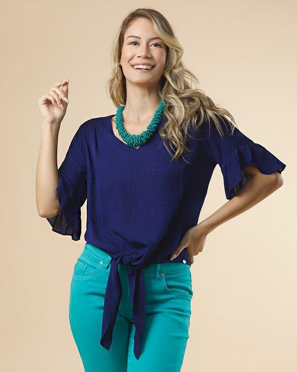 Blusa-Tecido-Bordado-Frente-com-Amarracao-Marinho