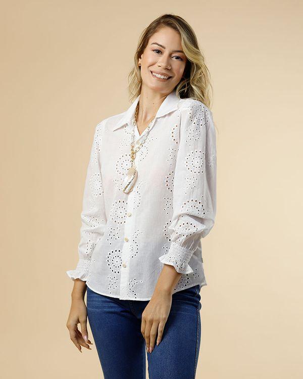 Camisa-Tecido-Laise-Frente-Botoes-Madreperolas-Branco