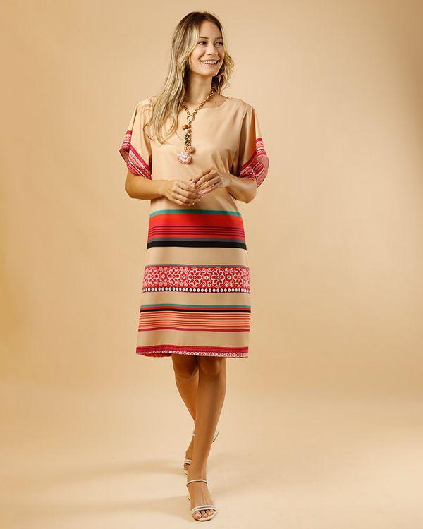 Vestido-Crepe-Listras-Multi-Collor-Listrado