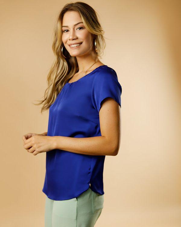 Blusa-Cetim-Decote-Franzido-Azul