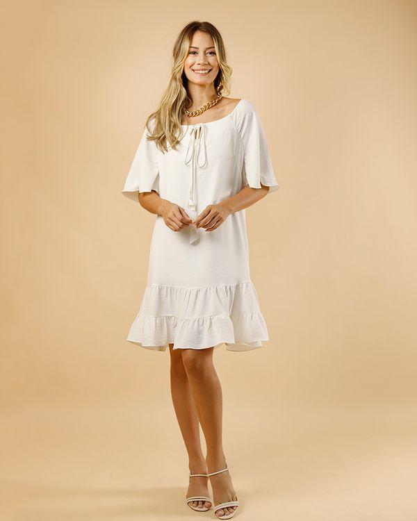 Vestido-Tecido-Decote-Ombro-a-Ombro-Ponteiras-Tulipas-Off-White