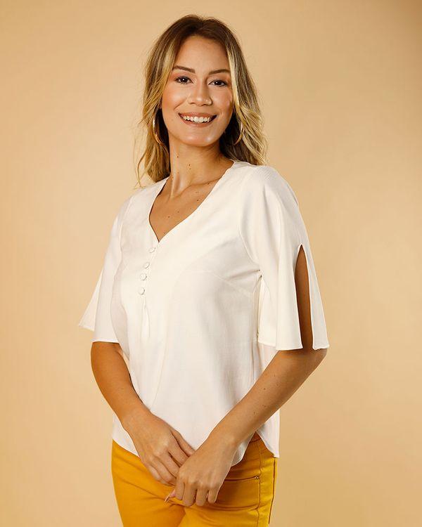 Blusa-Tecido-Frente-Botoes-Coberto-Off-White-