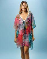 Vestido-Caftan-Tecido-Estampado-Fundo-do-Mar