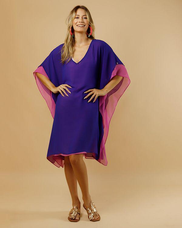 Vestido-Caftan-Tecido-Mix-de-Cores-Azul