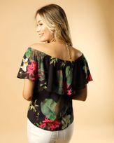 Blusa-Tecido-Estampa-Floral-Noturno-Estampado