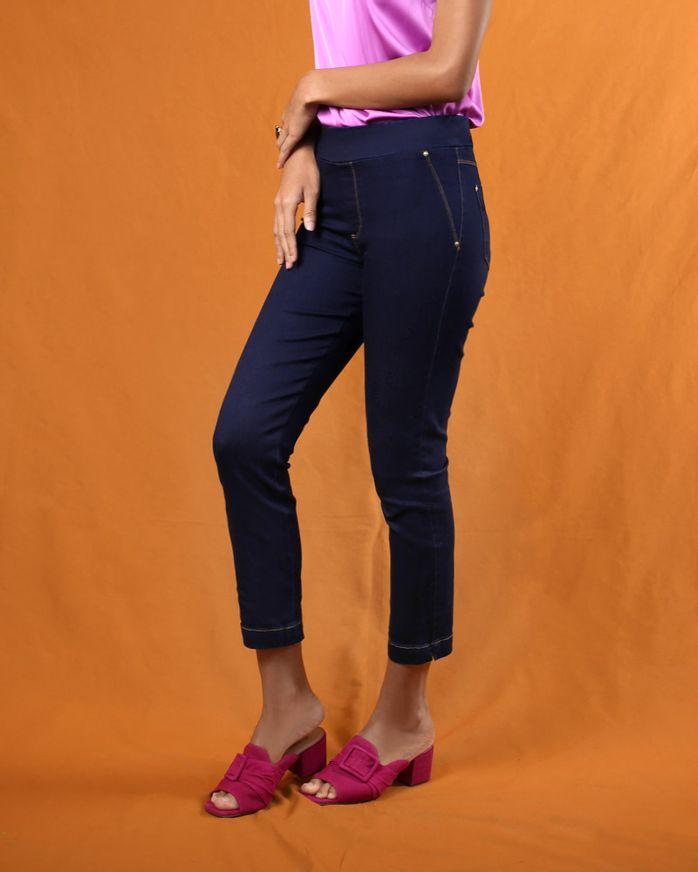 -Calca-Keila-Jeans-Cos-com-Elastico-Azul