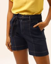 Bermuda-Clochard-Jeans-com-Faixa-Azul