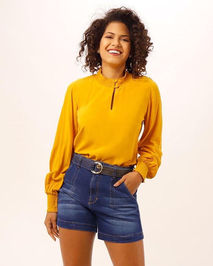 Bermuda-Jeans-com-Cinto-Pespontado-Azul