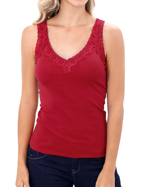 Blusa-Malha-Canelada-Decote-com-Renda-Vermelho