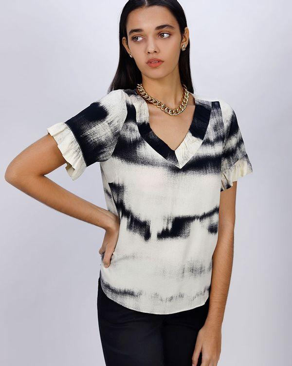 Blusa-Crepe-Estampa-Reflexos-Off-White
