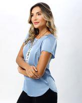 Blusa-Cetim-Mangas-com-Pregas-Azul-Sublime-