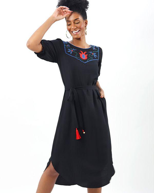 Vestido-Midi-Tecido-Pala-Bordada-Preto