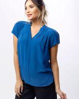 Blusa-Tecido-Frente-com-Pregas-Azul-Carbono