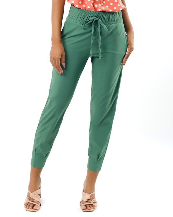 Calca-Comfy-Tecido-Cos-de-Elastico-Verde-Oliva