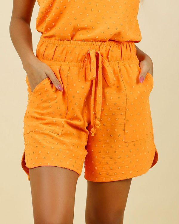 Short-Tecido-Textura-Poas-Tangerina-