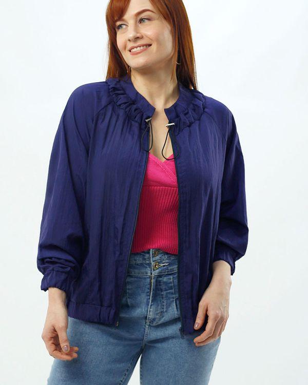 Jaqueta-Corta-Vento-Tecido-Gola-Regulavel-Azul