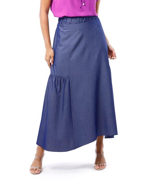 Saia-Jeans-Longa-Cos-Franzido-Azul